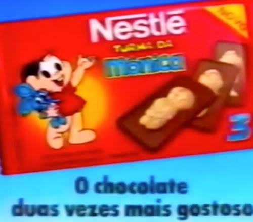 Divertido comercial do delicioso Chocolate da Turma da Mônica, produzido pela Nestlé no começo dos anos 90.