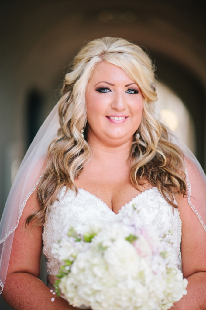 Gorgeous portrait of bride, Kelly by STUDIO 1208