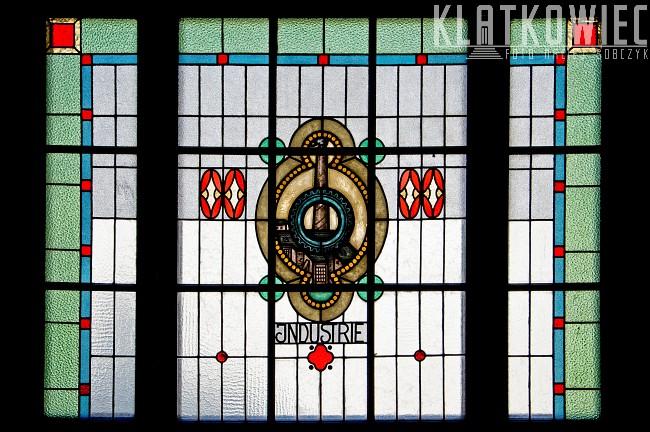Łódź: niezwykły witraż świadczący o przemysłowej historii miasta