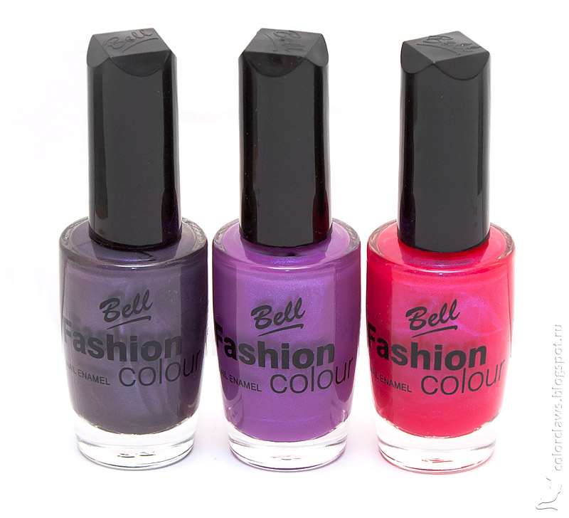 Bell nail polish collection by Colorclaws