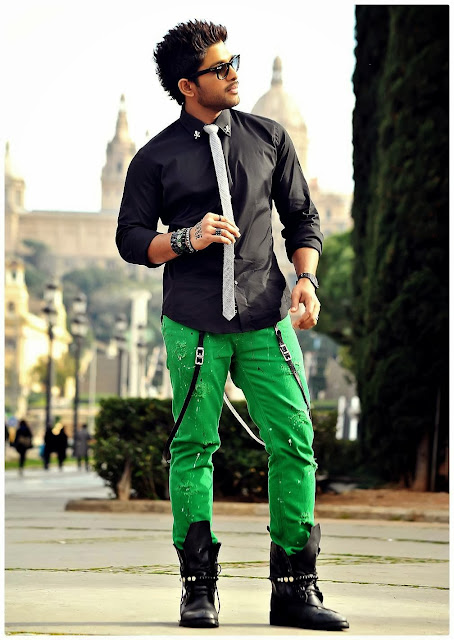 Allu Arjun Stills in Romeo and Juliets