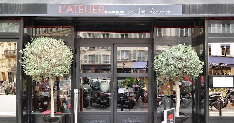 pinkfoodiela l 39 atelier de jo l robuchon saint germain paris 6th arr. Black Bedroom Furniture Sets. Home Design Ideas