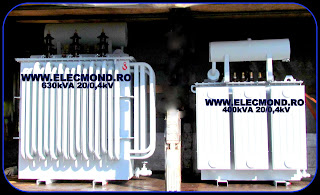 Transformator 630 kVA 20 /0,4kV   , Transformator 400 kVA 20/0,4kV , transformatoare , trafo , transformatoare electrice trifazate , Elecmond Electric