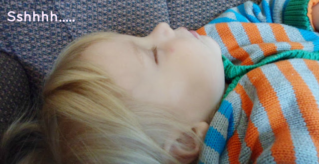 sleeping toddler