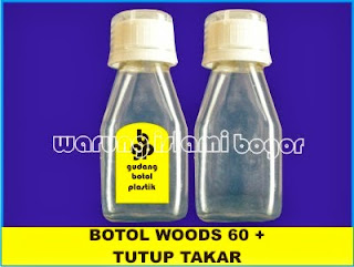PET Sirup Batuk 60 ml Woods