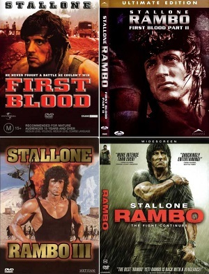 Rambo - 1, 2, 3 e 4 Coleção completa Torrent Download  BluRay 720p
