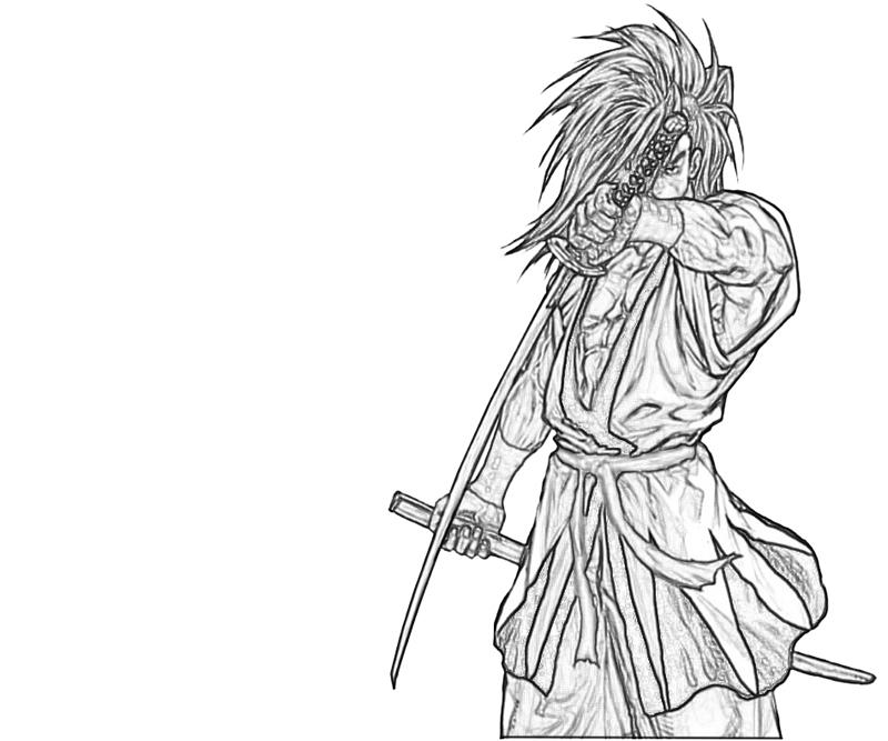 haohmaru-skill-coloring-pages