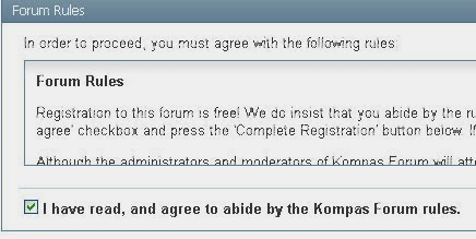 Promosi Bisnis, Forum Kompas