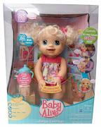 Dos paquetes de mescla de jugo para muñeca Baby Alive. Vestido