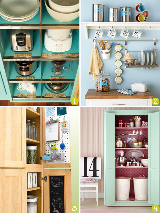 Strawberry chic inspiration thursday storage ideas for small kitchens - Inspired diy ideas small kitchen ...