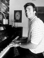 Clint Eastwood y su piano