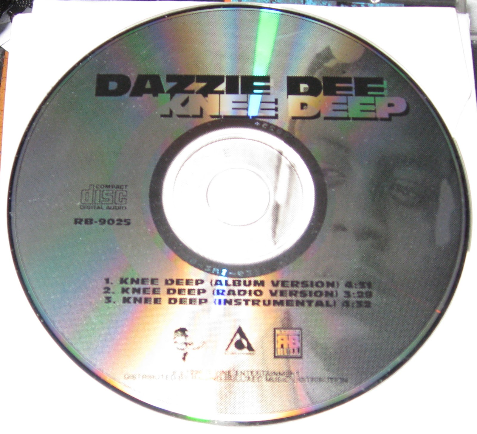 Dazzie Dee – Knee Deep – CDS – 1996 (VBR)