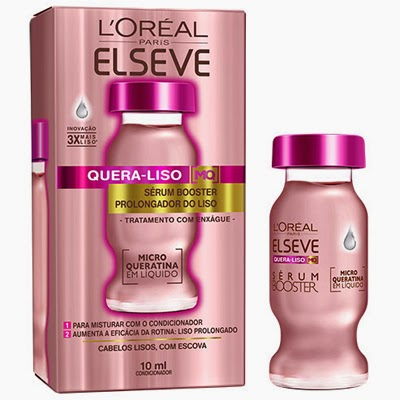Sérum Booster prolongador do liso Quera Liso MQ L'Oréal Elseve