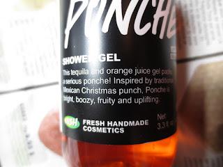 Lush Ponche Shower Gel