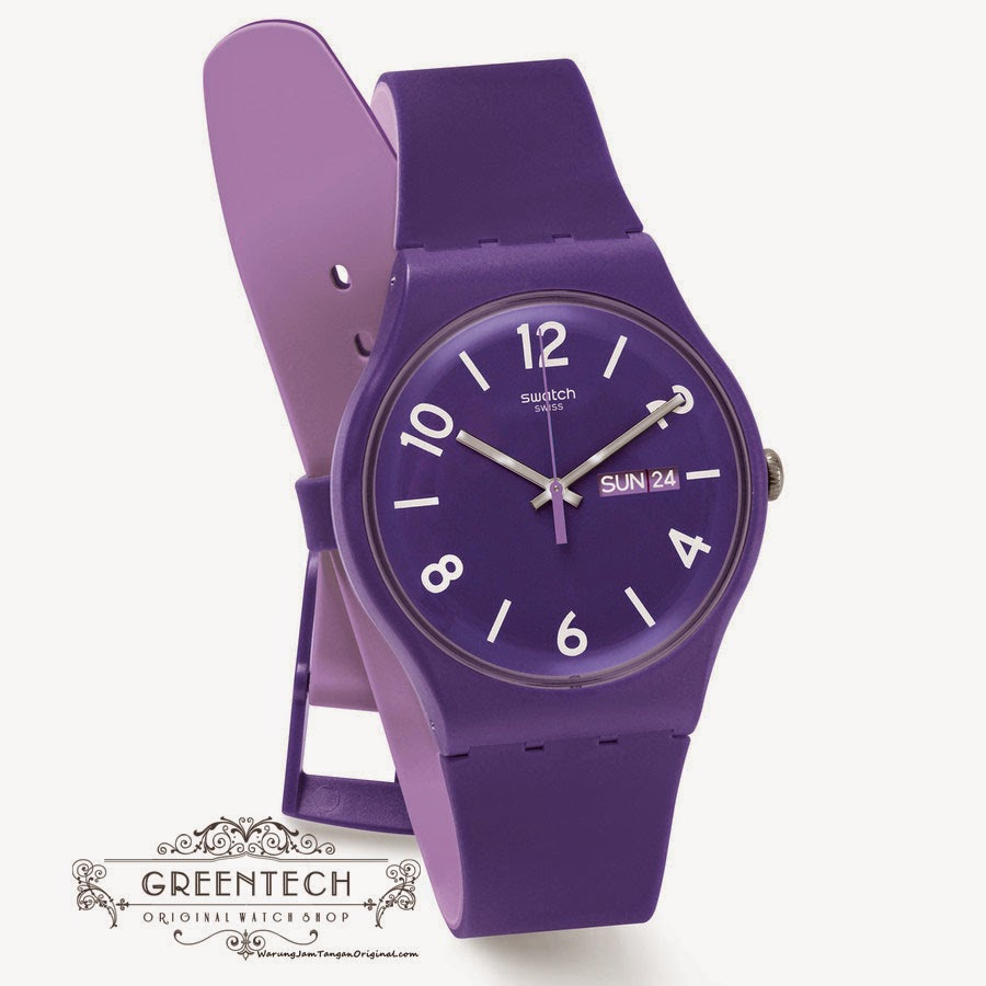 Swatch BACKUP PURPLE SUOV703