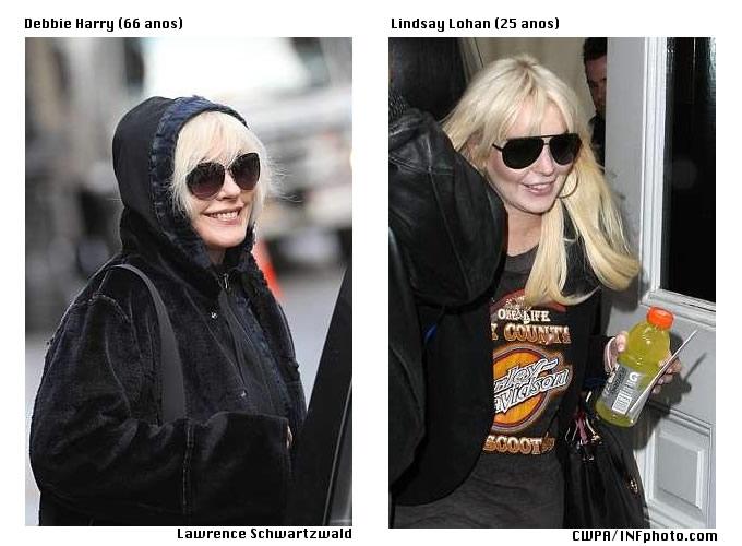 Cantora de 66 anos é confundida com Lindsay Lohan