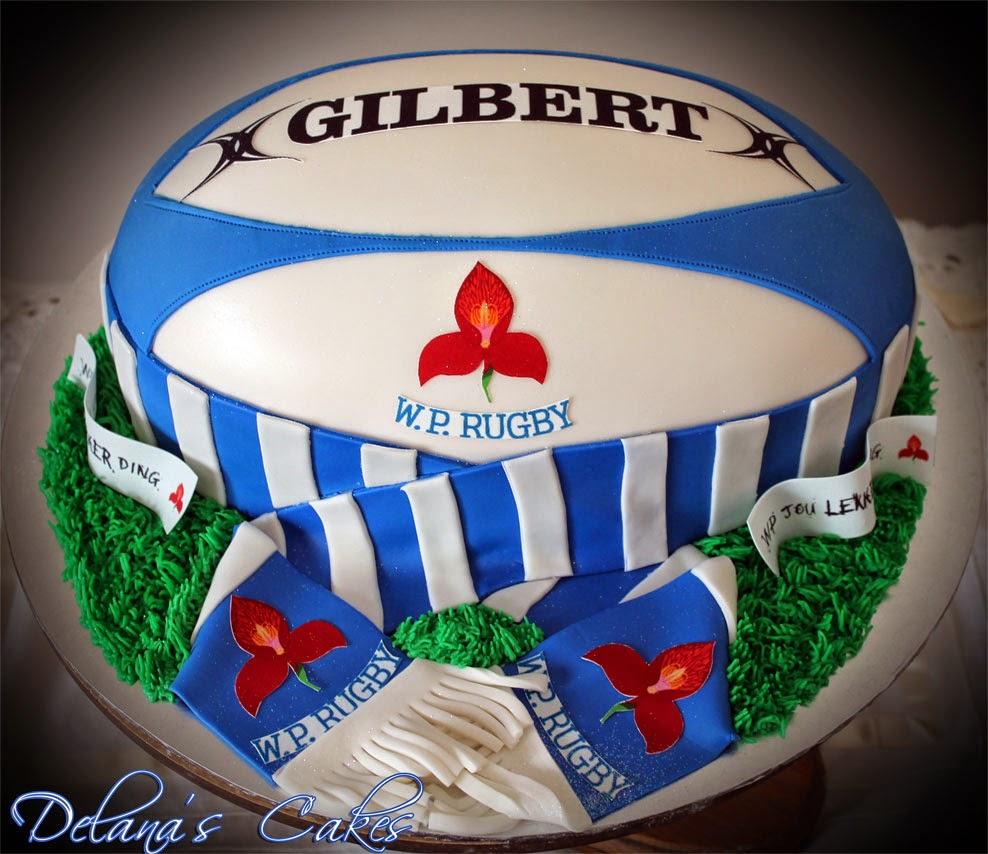WP Stormers Rugby Cakes