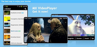 Free Download MX Video Player Pro v1.6 APK + Codecs Full Version