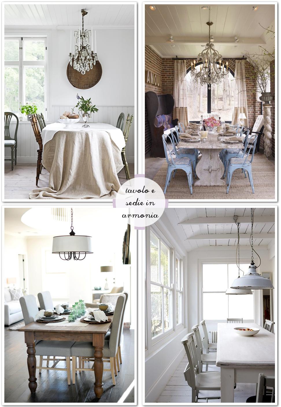 Una sedia per ogni tavolo - Shabby Chic Interiors