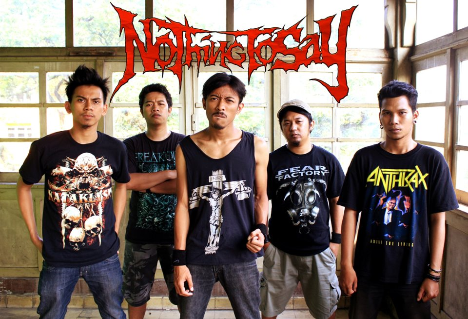 Nothing To Say Band Metalcore Malang Foto Personil Logo Artwork Wallpaper