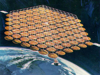 A Mega Solar Farm-Unlimited Alternate Energy Source, Using Energy Available in Space