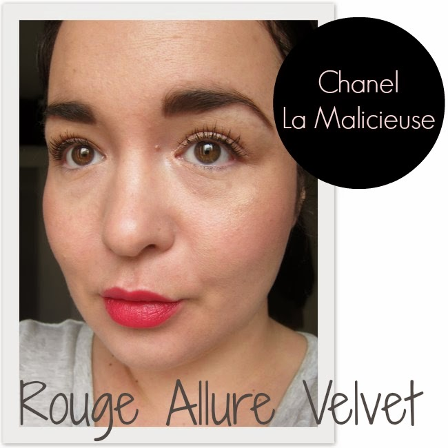 Chanel Le Malicieuse Rouge Allure Velvet Swatch