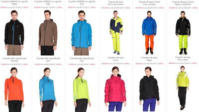 ropa esqui peak mountain