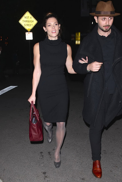 Actress, Model, @ Ashley Greene - Leaving The Nice Guy in West Hollywood