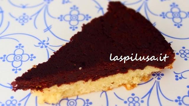 ricetta della torta brownie butter cake ovvero torta al burro e cioccolato fondente