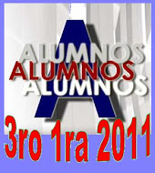 Alumnos 3ro 1ra 2011