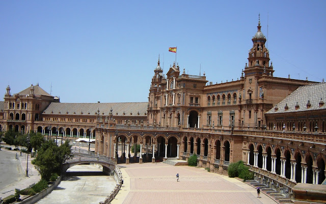 La Plaza de España en Sevilla