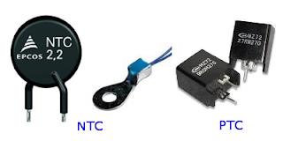 Bentuk Fisik NTC dan PTC
