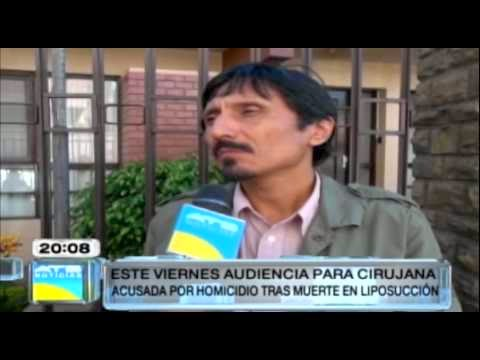 Cirujana que realizó liposucción es acusada de homicidio y mala praxis