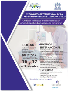 III CONGRESO DE LA RED INTERNACIONAL DE ENFERMERÍA EN CUIDADO CRÍTICO BOGOTA COLOMBIA