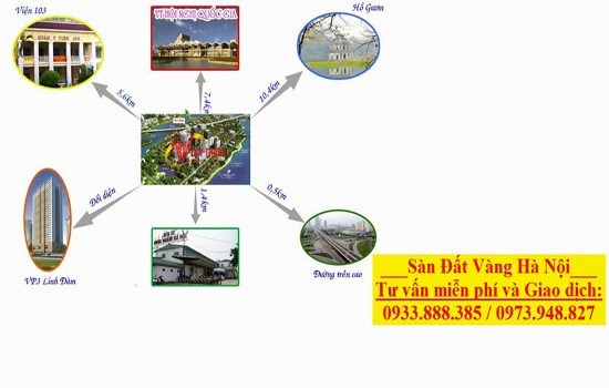 Hệ thống giao thông VP5 Linh Đàm