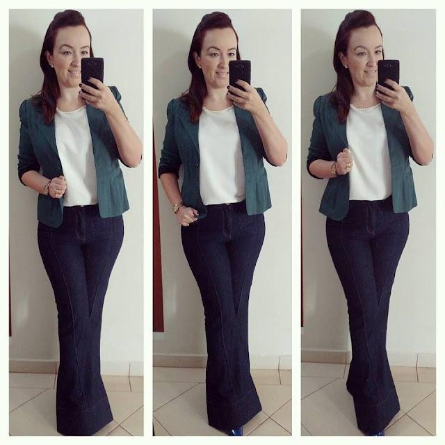 carmen steffens, blog de moda em ribeirão preto, fashion blogger em ribeirão preto, blog camila andrade, calça jeans flare, blusa off white, blazer verde musgo, look inverno, inverno 2015