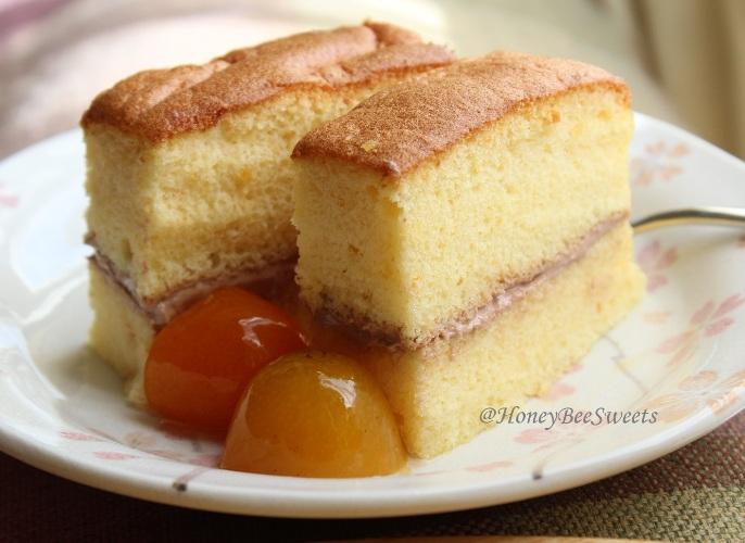 Honey Ogura Cake