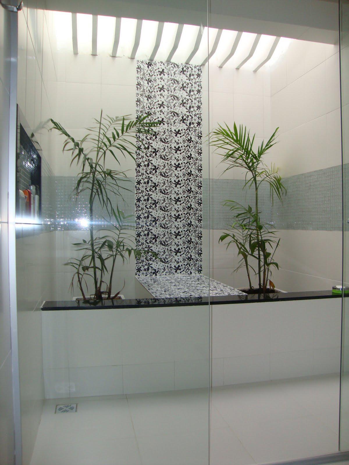 Projetos: Banheiro com Pergolado #536778 1200 1600