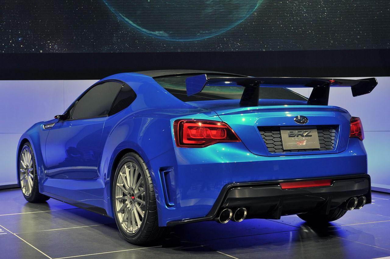 Subaru BRZ STI 2014