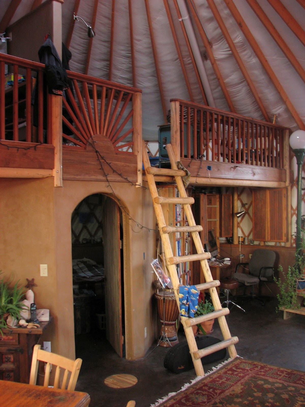 Living The Vida Yurta On Pinterest Yurts Yurt Loft And