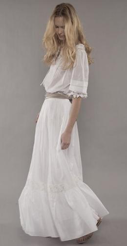 colección Pure Threads Alberta Ferretti y Emma Watson primavera verano 2011