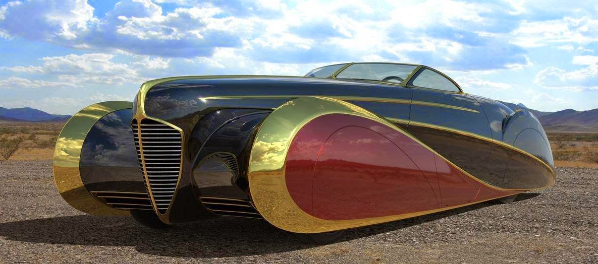 Just A Car Guy: CGI images from Terry Cook\'s Delahaye USA, bodies ...