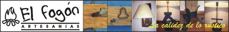 El Fogón - Artesanías en madera rústica y hierro- Uruguay - Flores