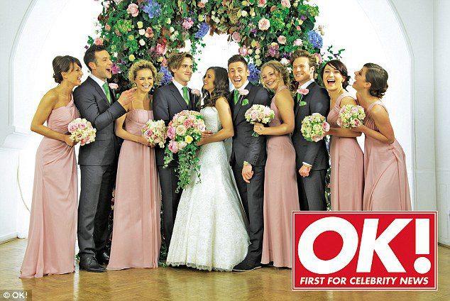Tom Fletcher and Giovanna Falcone's exclusive wedding ...