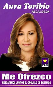 AURA TORIBIO ALCALDESA EN SANTIAGO