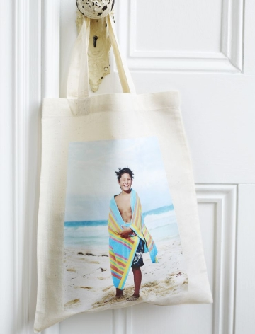 beach vacation photo bag