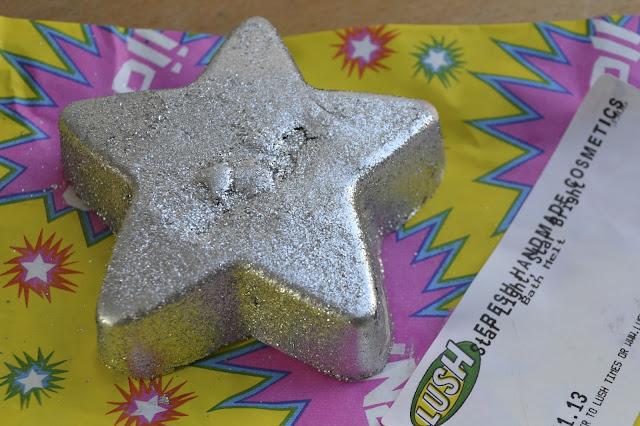 Lush's Star Light, Star Bright Bath Melt