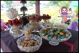 SERVIS CANDY BUFFET/DESSERT TABLE