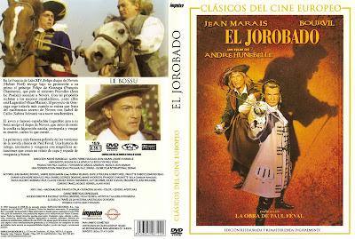 El jorobado (Le bossu) (1959) | Caratula | Cine clásico aventuras