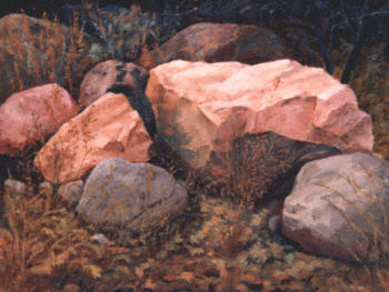 """Stone Broke"" by D.E. Johnson, 1999"